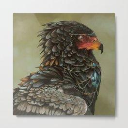 Necrophagy: Bateleur Eagle Metal Print