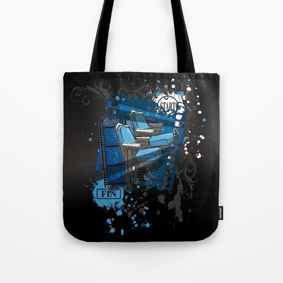 ALONE IN THE DARK Tote Bag