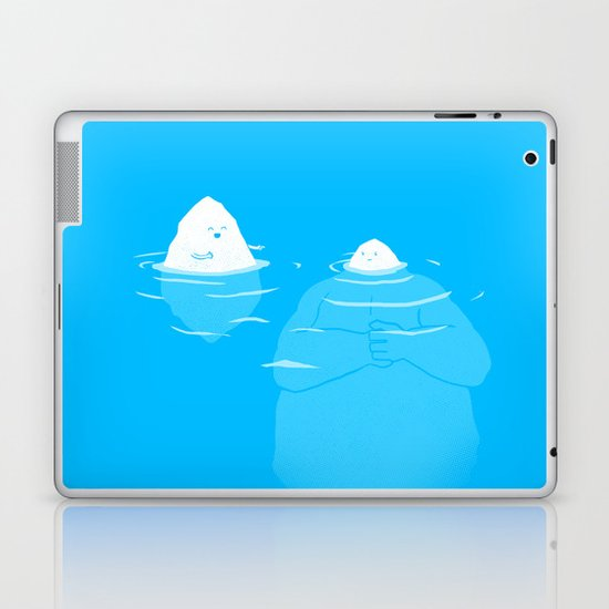 The Tip Of The Iceberg Laptop & iPad Skin