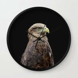 Predatory Eagle Wall Clock