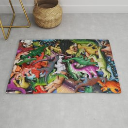 Toy Dinosaur collection 2 Rug