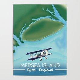 Mersia Island, essex Poster