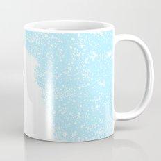 Its A Polar Bear Blinking In A Blizzard - Blue Mug