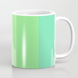 Watermelon Paradise Stripe Colour Palette Coffee Mug