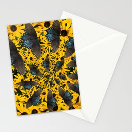 Butterfly Spiral Stationery Cards