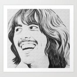 Singer Art Print
