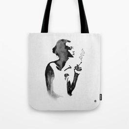 Smoker (Ink Painting) Tote Bag