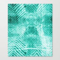 tie dye Canvas Prints featuring Tie Dye  by Jenna Davis Designs