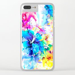 Under Your Spell Remix Clear iPhone Case