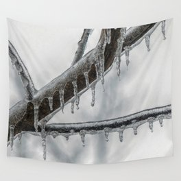 Icy Branch Wall Tapestry