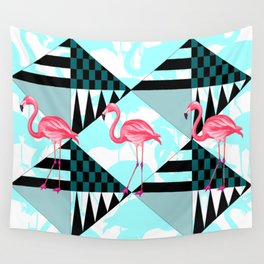 flamingo all days Wall Tapestry