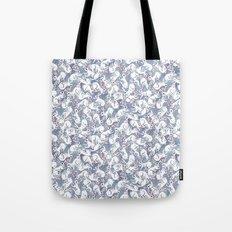 Bunny Pile Pattern Tote Bag