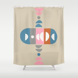 Storm Calka Space Age Shower Curtain