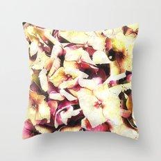 Hortensia - Hydrangea Throw Pillow