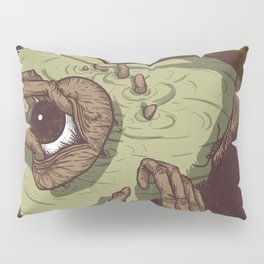 A Talk with Wise Monkey : Open Your Eye Pillow Sham