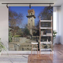 Ancient watchtower. Wall Mural