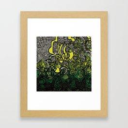 DEPTH-CHARGE Framed Art Print