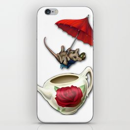 The Dormouse iPhone Skin