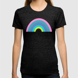 Cute Colorful Geometric Rainbow T-shirt