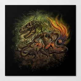 Extinction Chaos Canvas Print