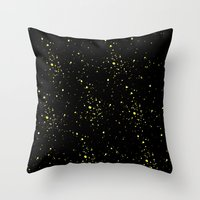 starry night Throw Pillows featuring Starry night by haroulita