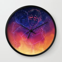 Across Galaxies Wall Clock