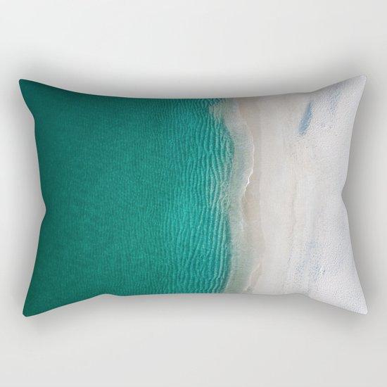 Fantastic Ocean Beach Rectangular Pillow
