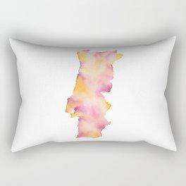Portugal Map Rectangular Pillow