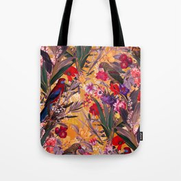 Floral and Birds XXVIII Tote Bag