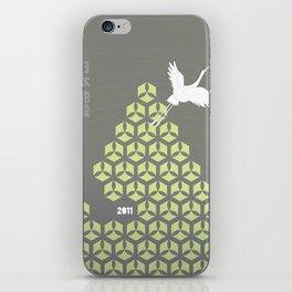 Japan earthquake 2011 no.3 iPhone Skin