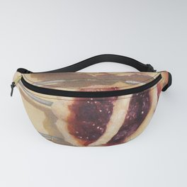 Mince Pies Sweet Christmas Desserts Food Still Life Fanny Pack