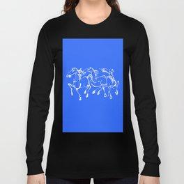 Stampede in blue Long Sleeve T-shirt
