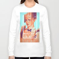 boy Long Sleeve T-shirts featuring boy by Redkat120