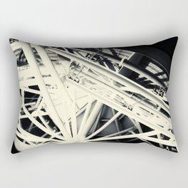 Spider Roof Struts Abstract Rectangular Pillow