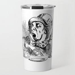 Vintage Mad Hatter Travel Mug