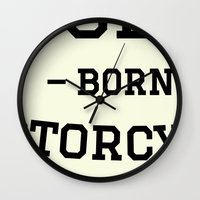 solid Wall Clocks featuring Solid by Born Motor Co.