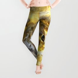 Frog In Deep Water Leggings