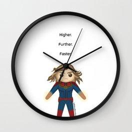 Carol Danvers Design Wall Clock
