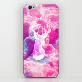 Deer In The Clouds iPhone Skin