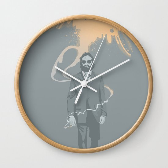 Out of the ashes arose a Phoenix Wall Clock