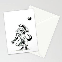 Full Moon Fear Stationery Cards