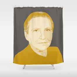 Gertrude Stein Shower Curtain