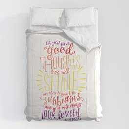You Will Always Look Lovely [Roald Dahl] Comforters