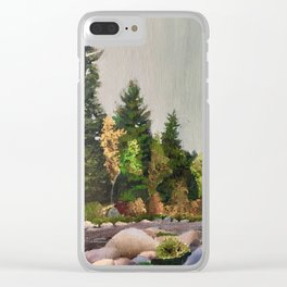 Upstate New York Gorges Clear iPhone Case