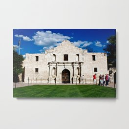 San Antonio Metal Print