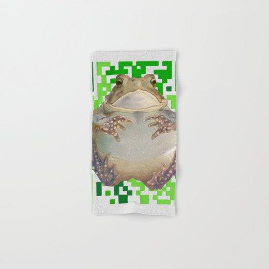 EcoQR Toad Hand & Bath Towel