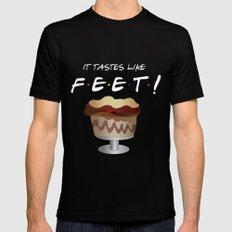 It tastes like feet! - Friends Black MEDIUM Mens Fitted Tee