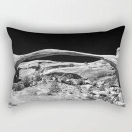 Natures Amazing Work - Landscape Arch  Rectangular Pillow