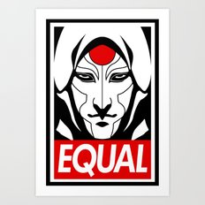 Equal Art Print
