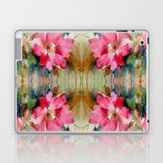 Floral Ribbon Laptop & iPad Skin
